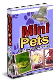 mini pets - household pet keeping guide
