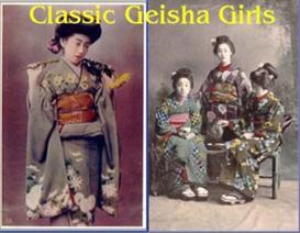 Vintage Japanese Geisha Girls - Vintage Postcard Scrapbook | eBooks | History