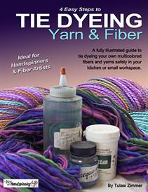 4 Easy Steps to Tie Dyeing Yarn & Fiber | eBooks | Arts and Crafts