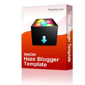 Haze Blogger Template | Other Files | Patterns and Templates
