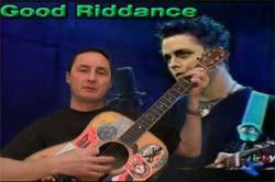 learn to play good riddance by green day