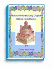 baby diaper cake ebook