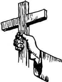 Cross in hand - psd | Other Files | Clip Art