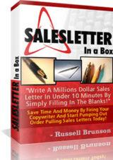Sales Letters In a Box | Software | Business | Other
