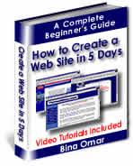 Create Your Own Web Site in 5 Days | eBooks | Internet