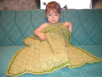 #35 Lux Flower Baby Blanket PDF Pattern from SweaterBabe.com | Other Files | Arts and Crafts