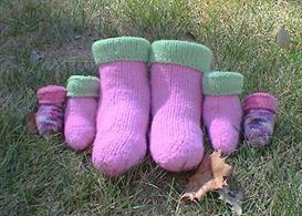 Felties Boot Style Slippers Knitting Pattern | Other Files | Arts and Crafts