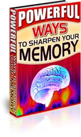 Powerful Ways to Sharpen Your Memory | eBooks | Self Help