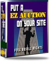 ez auctions: build your own ebay auction site