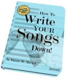 ebook: how to write your songs down