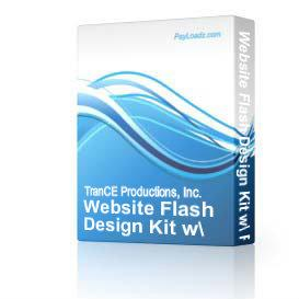 Website Flash Design Kit w/ Resell Rights! | Software | Design