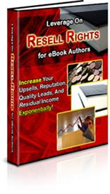 Leverage on Resell Rights | eBooks | Business and Money