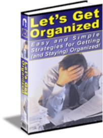 Getting Organized | eBooks | Self Help