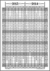 Jul13-Jun14: July-June Calendar, Fiscal Year, & Academic Year Calendar | Other Files | Documents and Forms