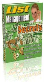 List Management Secrets | eBooks | Business and Money