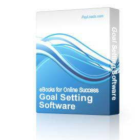 Goal Setting Software | Software | Home and Desktop
