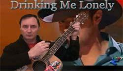 learn to play drinking me lonely by chris young