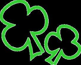 Two Shamrocks - eps | Other Files | Clip Art