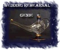 wedding rehearsal genie