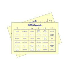 Holland Codes Bingo Cards for Adults | eBooks | Education