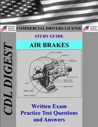 cdl practice test study guide: air brakes