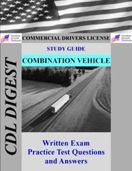 cdl practice test study guide: combination vehicles