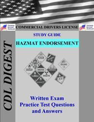 CDL Practice Test Study Guide: Hazmat Endorsement
