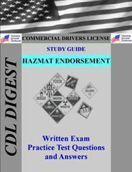 cdl practice test study guide: hazmat endorsement
