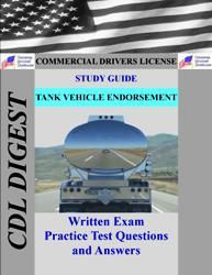 cdl practice test study guide: tank vehicle endorsement