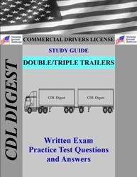 CDL Practice Test Study Guide: Double/Triple Trailers Endorsement | eBooks | Education