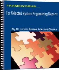frameworks for selected system engineering reports ebook