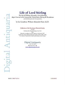 life of lord stirling (1847)