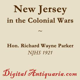 New Jersey in the Colonial Wars | eBooks | History