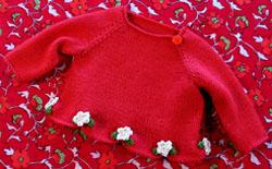 Tiny Flower Sweater Pattern | eBooks | Arts and Crafts