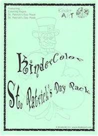 kinderart: st. patrick's day e-coloring pages