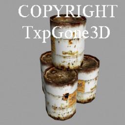 TxpGone3D Barrels | Software | Games