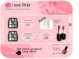 i love Pink! Website Template | Other Files | Patterns and Templates