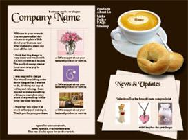 Coffee Web Template | Other Files | Patterns and Templates