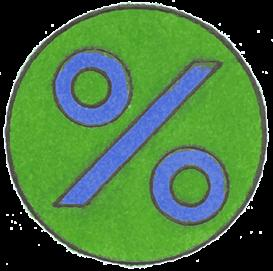 Percent - psd | Other Files | Clip Art