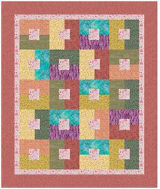 Scrapdash Quilt Pattern - Corn Off The Cob | Crafting | Sewing | Bed and Bath