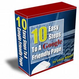 10 Easy Steps to a Google Friendly Website | eBooks | Internet