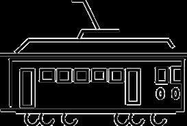 Trolley Car - eps | Other Files | Clip Art
