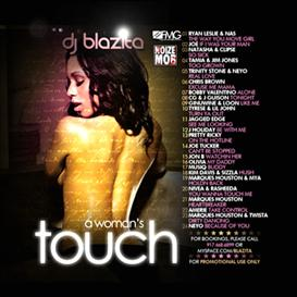 dj blazita - a woman's touch rnb mixtape cover download