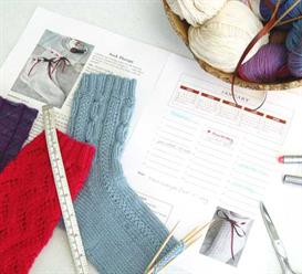 The Sock Calendar knitting pattern book - PDF | eBooks | Arts and Crafts