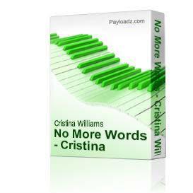 No More Words - Cristina Williams | Music | Rock
