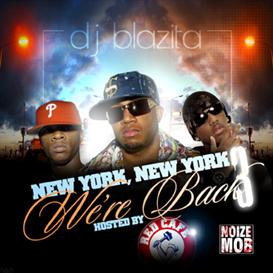 DJ Blazita - NY NY vol 3 ft Red Cafe Mixtape COVER DOWNLOAD | Music | Rap and Hip-Hop