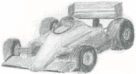 Formula One Race Car - psd | Other Files | Clip Art