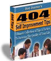 404 Self Improvement Tips | eBooks | Self Help