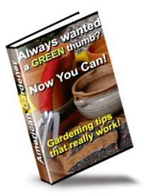 American Gardener | eBooks | Home and Garden