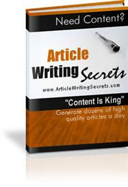 article writing secrets